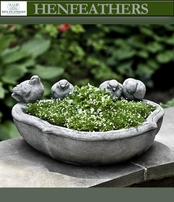 Alouette Bird Family Planter