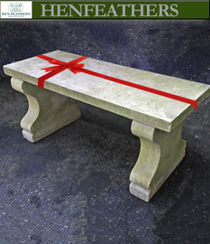 Elegant Antique Marble Bench, 1880, Rare find, Freight shipping included in Price