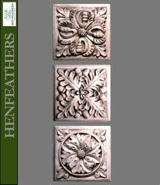 Architectural Square Decorative Wall Plaques {USA}