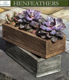 Barn Board Planter