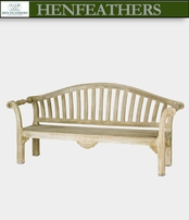 Blenheim Scroll Bench (n)