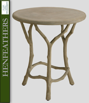 Bois de Bourbon Tea Table (n)