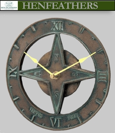Boutique Classic Sundial Clock