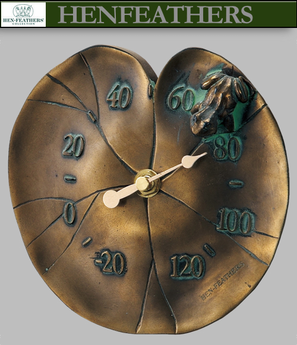 Lily Pad Thermometer
