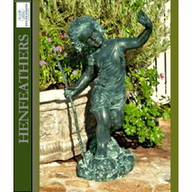 Bronze Statues - Carefree Young Girl  lost wax bronze