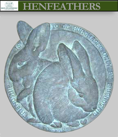 Bunny Friendship Plaque{USA}
