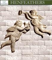 Cherubs with Harp & Trumpet {USA}