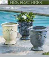 Shell Cote d'Azur Planters Set of 3