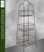 Country House 3-Tier Plant Stand (n)