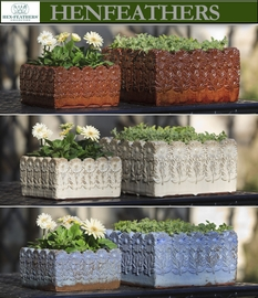 Daisies Planters Set of 2