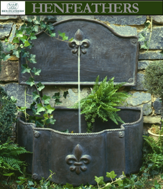 Fleur de Lis Water Lily Pad Fountain - Fountains  {USA}