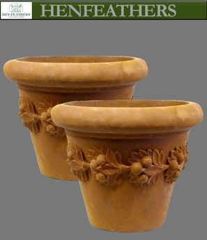 Florentine Fruit Planter Pair {USA}n