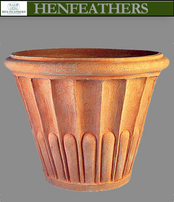Fluted Flower Pot