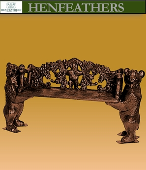 Forest Bear Bench {USA}n