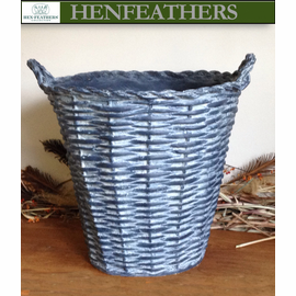 "French Basket Planter/wine cooler 15"" {USA}n"