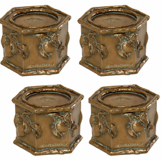 Fruit Candle Holders, Set of Four