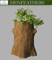 Grand Saranac Faux Bois Planter
