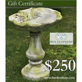 HenFeathers $250 Gift Certificate