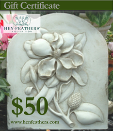 HenFeathers $50 Gift Certificate