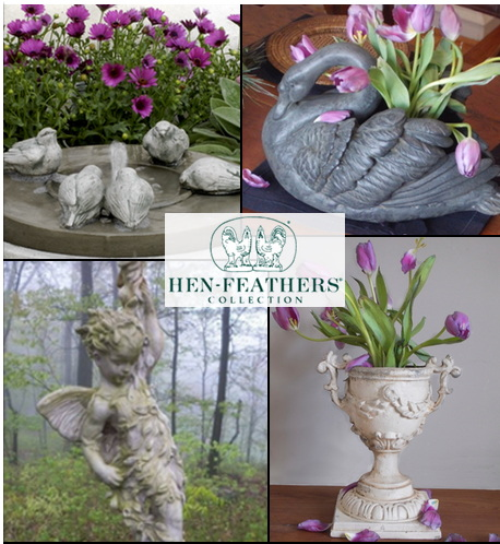 See the HenFeathers Wall Decor Collection