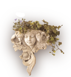See the Vintage Fleur Wall Cachepot