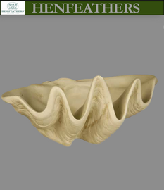 Key Largo Clam Shell Planter