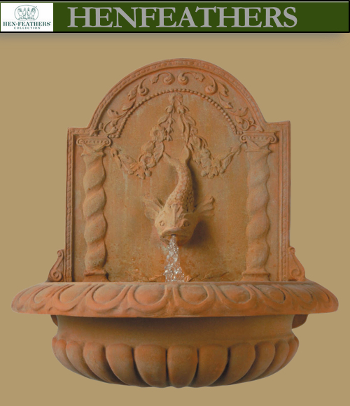 Large Classic Dolphin Fountain