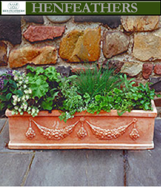 Large Garland Flower Box
