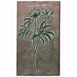 Large Peony Study Wall Decor