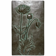 Large Poppy Study Wall Decor