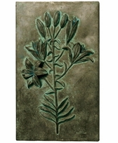 Lily Study with Blossoms Wall Decor