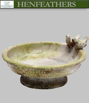 Lovebirds Birdbath {USA}n