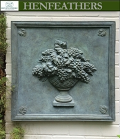 Majestic Grapevine Urn Plaque