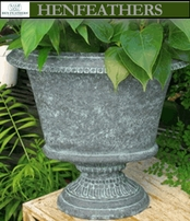 Mantel Urn oval   {USA}