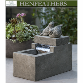 Mini Element Fountain with Songbirds