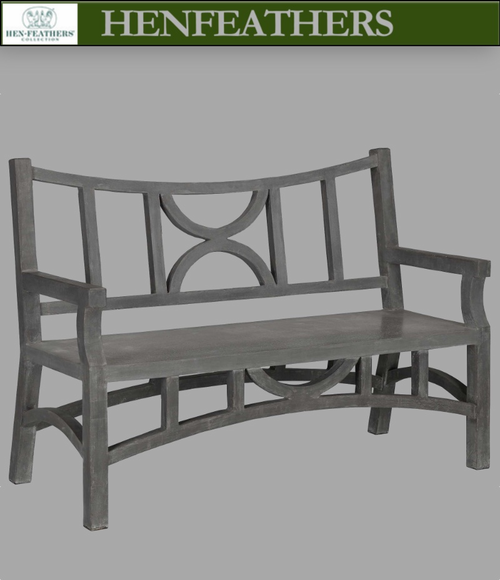 Moongate Bench