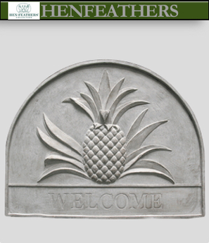 Grand Isle Pineapple Welcome Plaque