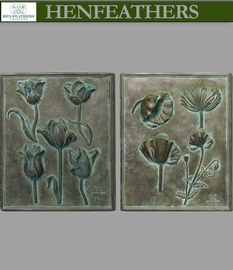 Poppy And Tulip Studies Set of 2