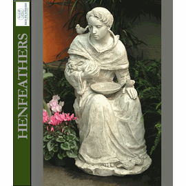Saint Francis Sitting - Garden Sculpture{USA}
