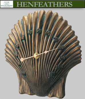 Scallop Shell Thermometer
