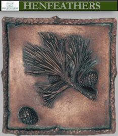 Scotch Pine Wall Decor Plaque