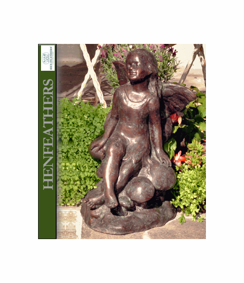 Sunshine Fairy- Bronze Garden Sculpture