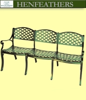 Trois Woven Arch Bench {USA}n