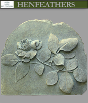 Rose Decorative Bas Relief {USA}