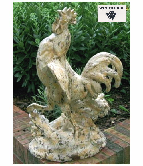 Winterthur Rooster  Vintage Blanc {USA}