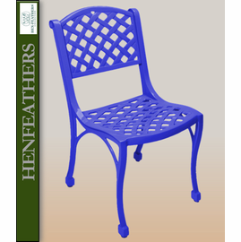 "Woven Arch Armless Patio Chair 18"" {USA}n"