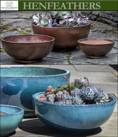 Yuma Bowl Planters Set of 3