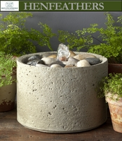 Zen Pebble Fountain