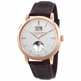 A. Lange & Sohne 384.032 Saxonia Moon Phase Mens Automatic Watch
