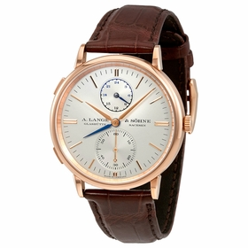 A. Lange & Sohne 386.032 Saxonia Dual Time Mens Automatic Watch